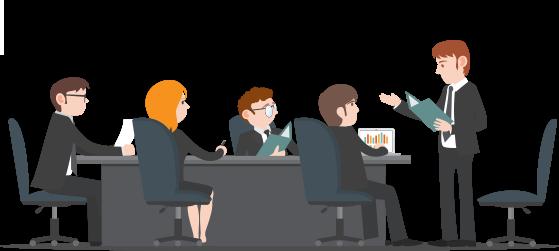 Comment lire une description de travail d'un directeur ou gestionnaire de Project