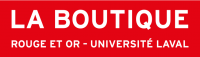 logo Boutique Rouge et Or - Université Laval